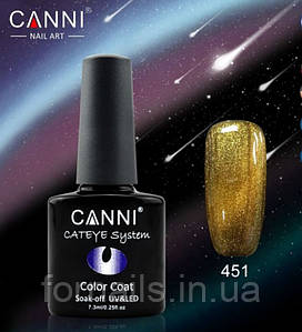 Гель-лак Canni хамелеон №451 (7.3мл)