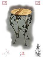 Кованый круглый стол