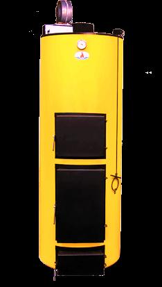 Универсальный котел на твердом топливе Буран 20 У+ГВС (Чугунный колосник)