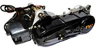 Двигатель на скутер 2T Stels 50сс (1E40QMB, копия Yamaha Jog)