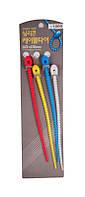 Шнуры силиконовые PDL 20 см, 4 шт (ZA-26)