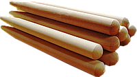 Черенок для лопаты Ø40мм, 1,2м  в/с (ясень, граб)