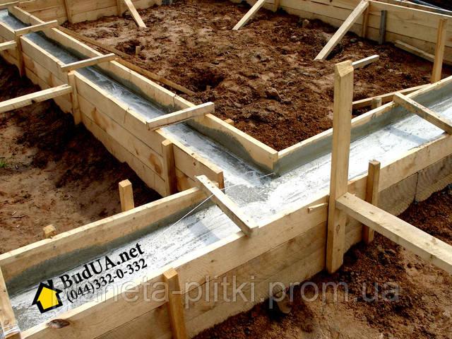 Подготовка фундамента, яма под фундамент. (044) 332-0-332