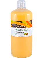 Fresh Juice Крем-мыло с увлажняющим молочком авокадо Papaya 1000 мл