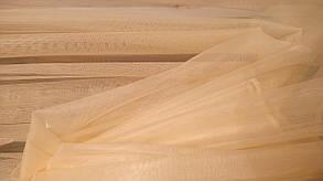 Ткань текстильная Сетка- однотонная мелкое сечение №1 Ваниль, фото 2