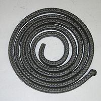 Сальниковая набивка АПР-31 д 24,0 (асбестовая жировая графитированная с проволокой) ГОСТ 5152-84