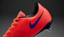 Бутсы Nike Mercurial Victory V SG 651640-650,Красные найк меркуриал  (Оригинал), фото 2