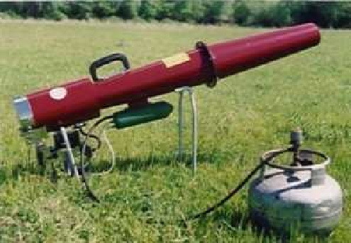 Пушка для отпугивания птиц