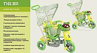 Детский велосипед трехколесный T102 2 вида
