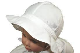 Головные уборы летние кепка с защитой от обгорания белый 100 % хлопок 63503-116086 MaxiMo, Германия 49(р)