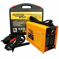 Инвертор Kaiser NBC-250L profi, 220 В, сварочный ток 20-250 А,електроды 1,6-5,0 мм, вес 6,6 кг, в чемодане с ц