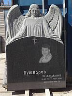 Памятник со скорбящей № 057