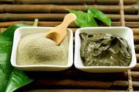Маска из зеленой глины для проблемной кожи