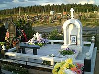 Памятник из мрамора № 245