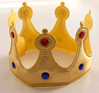 Корона Короля Мягкая на липучке