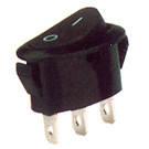 Переключатель клавишный узкий КП-11-220В