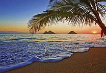 Флизелиновые фотообои Восход в Тихом океане Код: 955