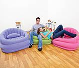 Надувное кресло Intex 102х91х65 см (68563), фото 3