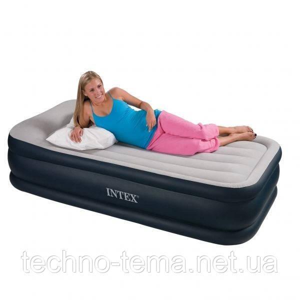 Надувная кровать Intex 102х191х43 см (67730)