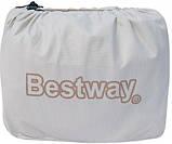 Надувная кровать Bestway 211х104х81 см (67386), фото 4