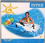 Матрас Intex  с рисунком с подголовником 183х76 см (58715), фото 5