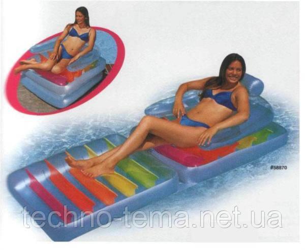 Пляжный матрас-кресло Metr+ 198х94х35 см (58870)