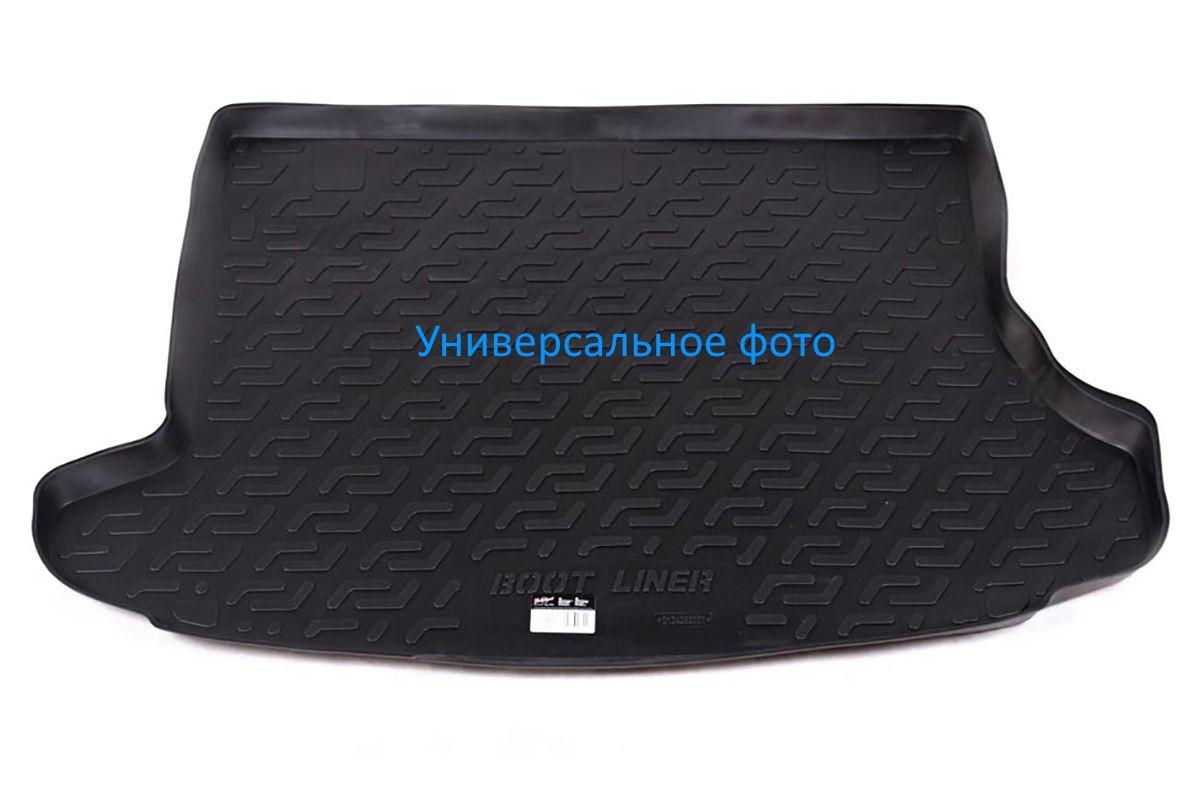 Коврик в багажник для Chevrolet Aveo HB (08-11) полиуретановый 107010401