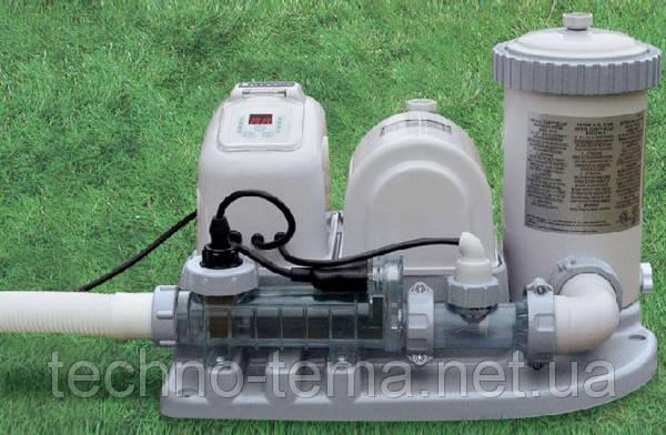 Фильтр-насос Intex  54612 с хлор-генератором