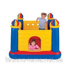 Надувной детский игровой центр - батут Замок Intex  48259
