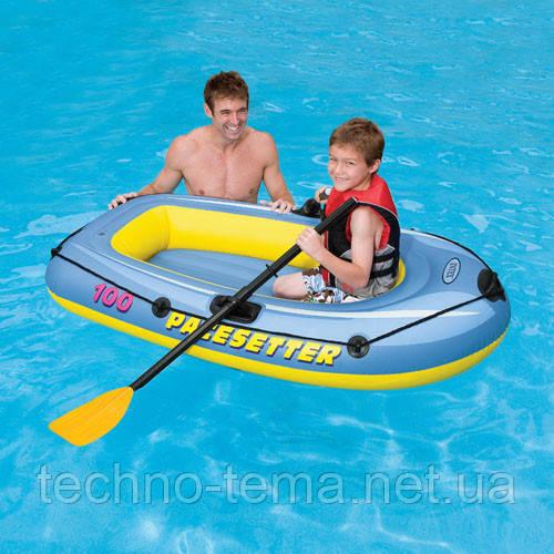 """Надувная лодка Intex """"Pacesetter 100"""" 160х94 см (58345)"""