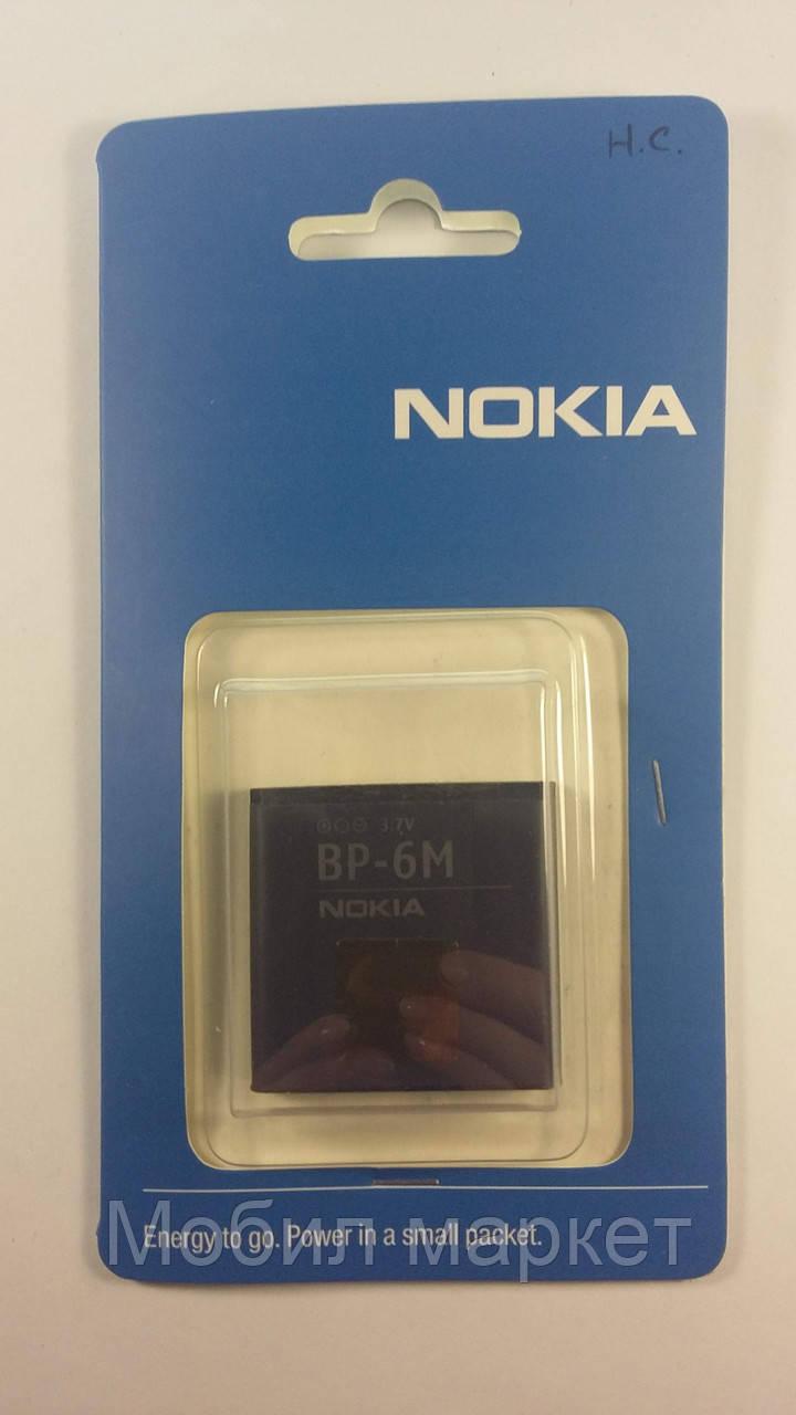 Аккумулятор Nokia BP-6M Li-Pol, 1100 mAh (High Copy)