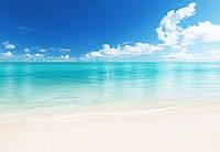 """Фотообои на стену: """"Пляж"""", 366х254 см, 8 частей"""