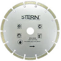 Диск отрезной алмазный 115x22.23мм, сегмент STERN