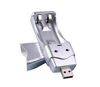 USB Зарядное устройство AA AAA зарядка для батареек