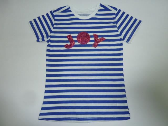 Модная футболка в полоску JOY