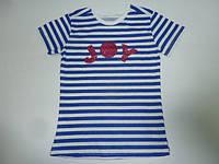 Модная футболка в полоску JOY, фото 1