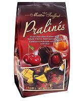 Шоколадные конфеты с вишневым с ликером Maitre Truffout, 240 г