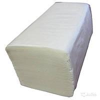 Полотенца бумажные листовые двухслойные V-сложение, 160шт/уп