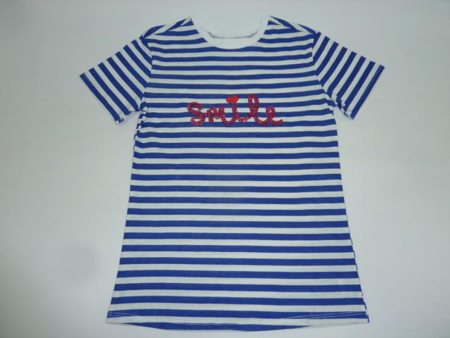 Модная футболка в полоску Smile