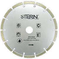 Диск отрезной алмазный 150x22.23мм, сегмент STERN