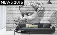 "3D Фотообои на стену: ""Ангел"", 366х254 см, 8 частей"
