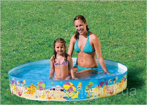 Детский бассейн Intex 152х152х25 см (56451)