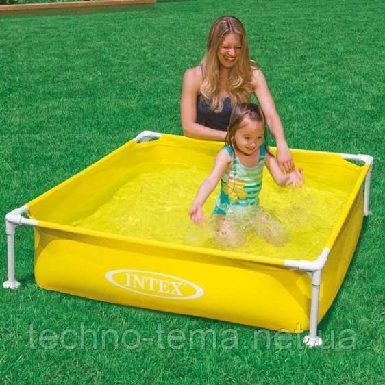 Детский каркасный бассейн Intex 122х122х30 см (57171)
