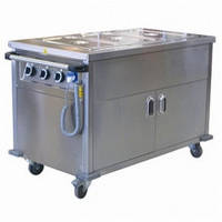 Прилавок передвижной для горячих блюд OHBED 12070 OZTI