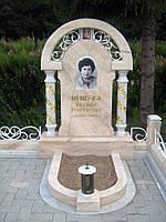 Памятник из мрамора № 2009, фото 1