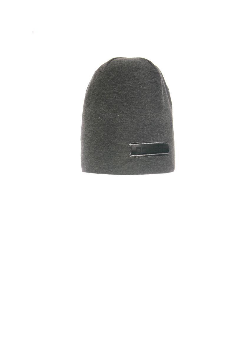 Модная, трикотажная шапка с удлиненным верхом для мальчика