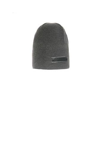 Модная, трикотажная шапка с удлиненным верхом для мальчика, фото 2