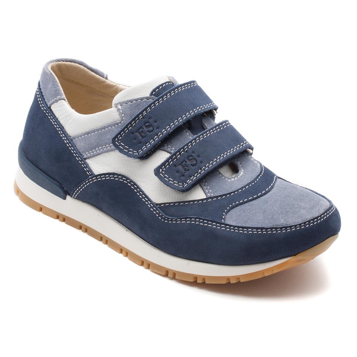 Кожаные FS Сollection кроссовки для мальчиков, размер 27-35