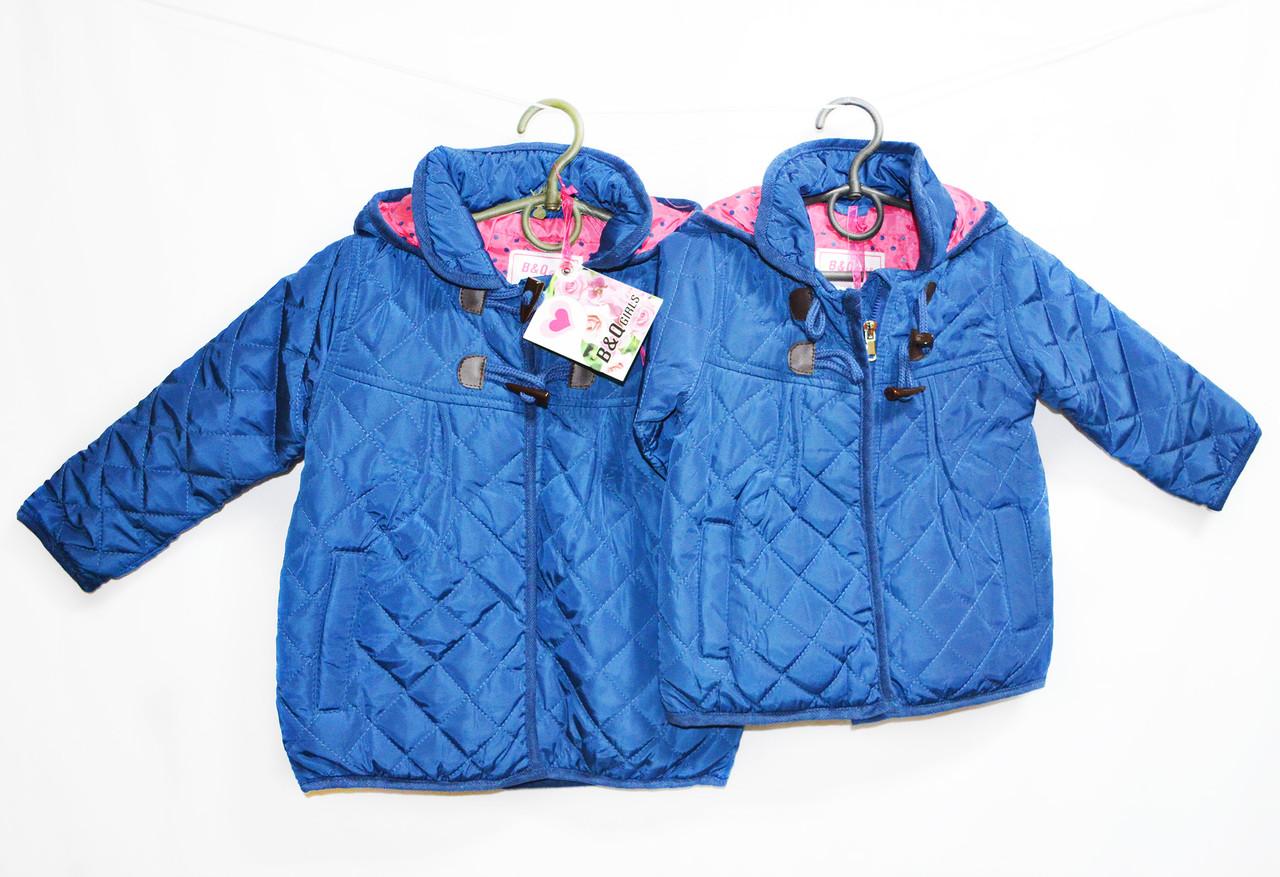 Курточка детская на флисе для девочки. №9138