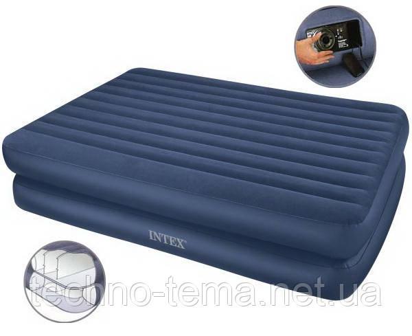 Надувная кровать Intex 152х203х48 см (66710)
